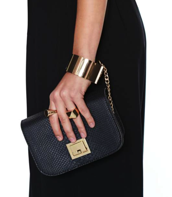 Nasty Gal cuff me clutch