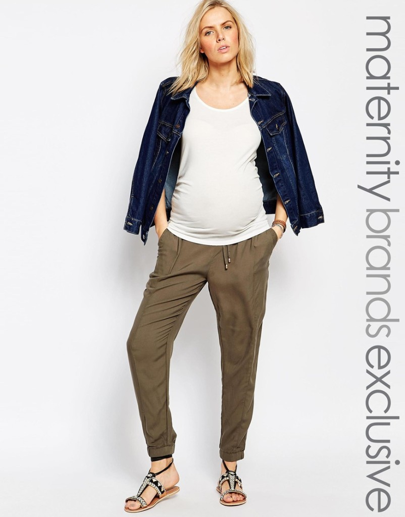 New Look maternity joggers