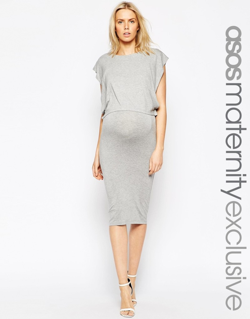Asos maternity/nursing dress