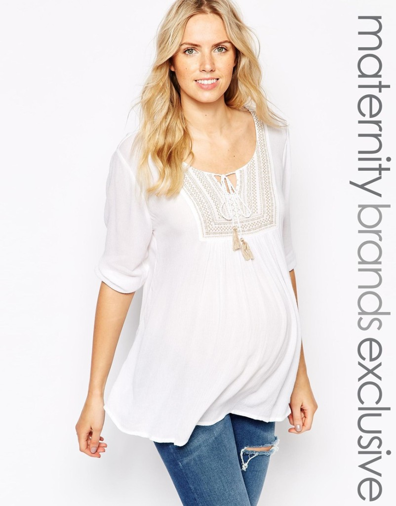 New Look maternity blouse