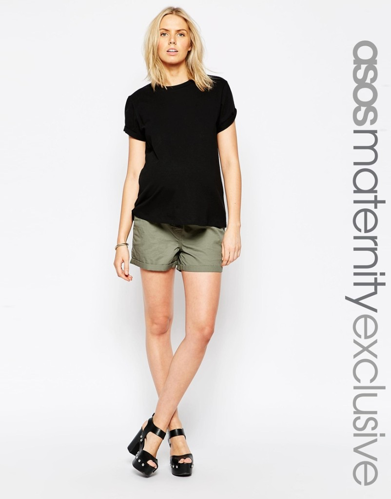 Asos maternity short