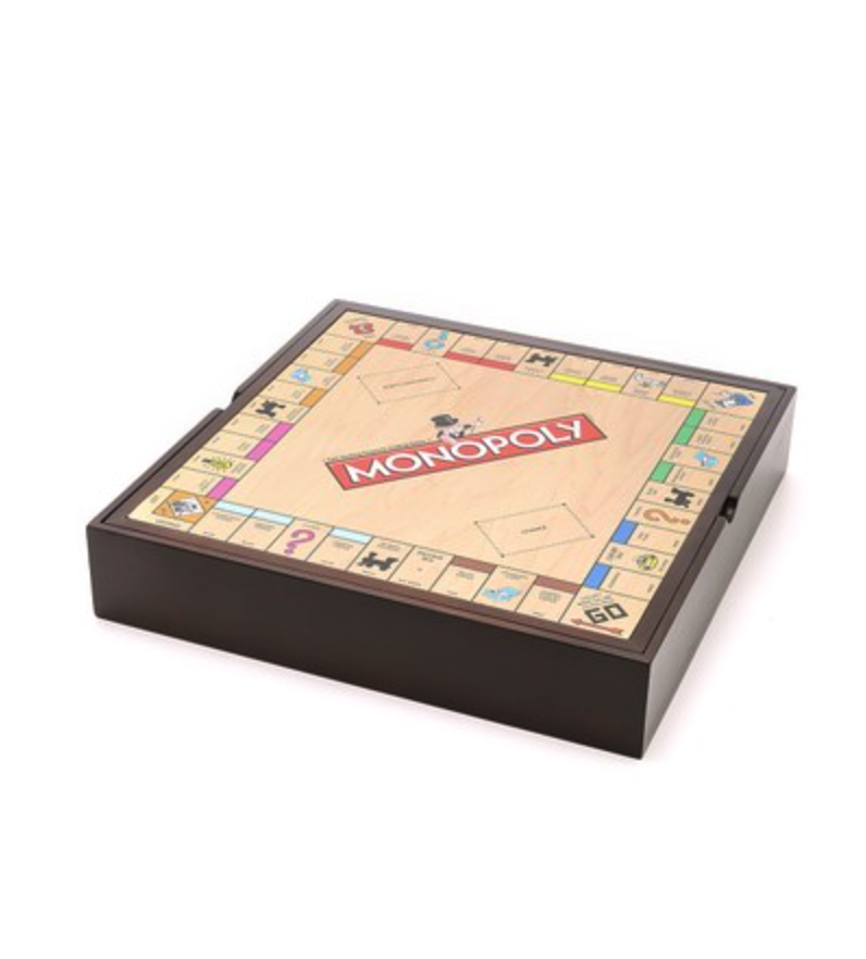 Monopoly (plus 4 board games)