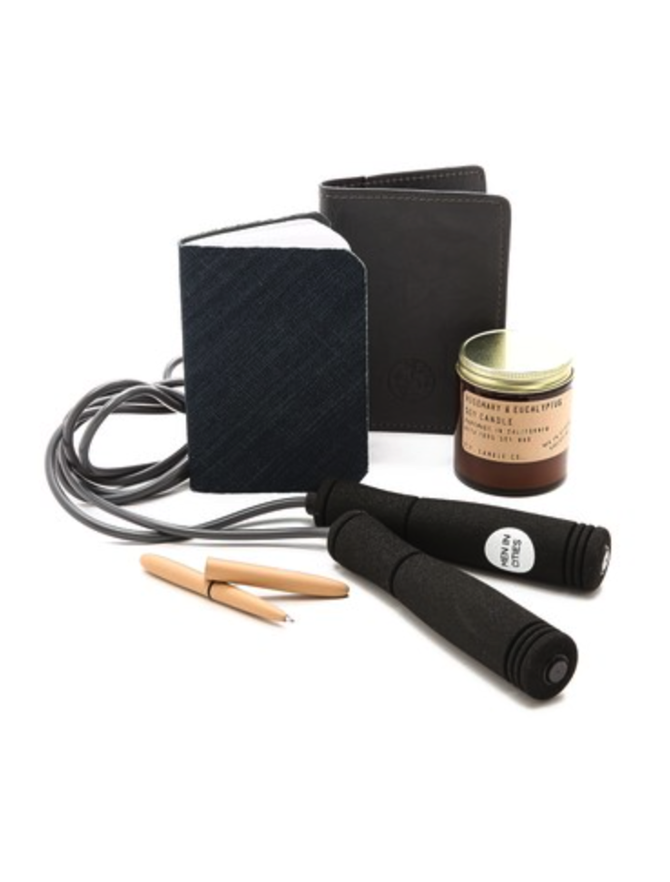 Men in Cities travel essentials box