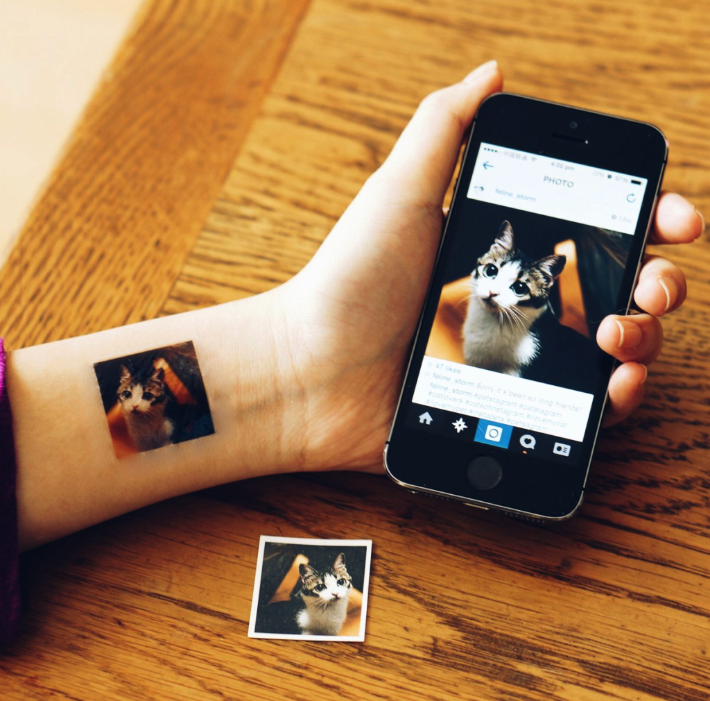Picattoo temporary photo tattoos