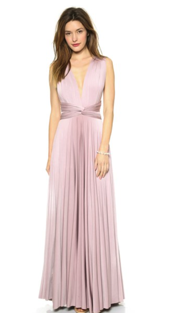 Two Birds convertible maxi dress