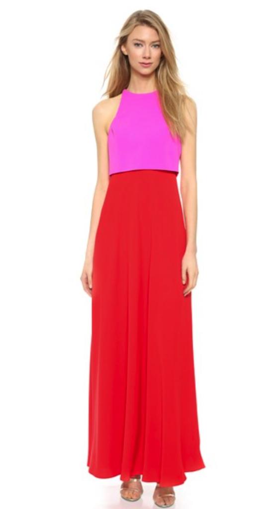 Jill Stuart gown