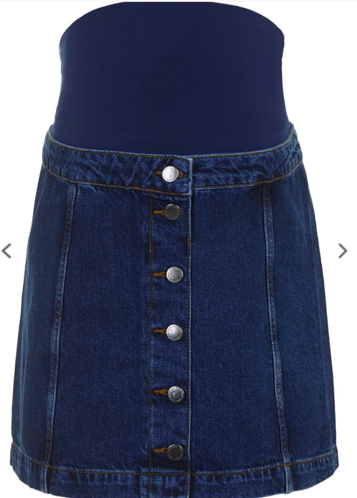 Topshop maternity skirt