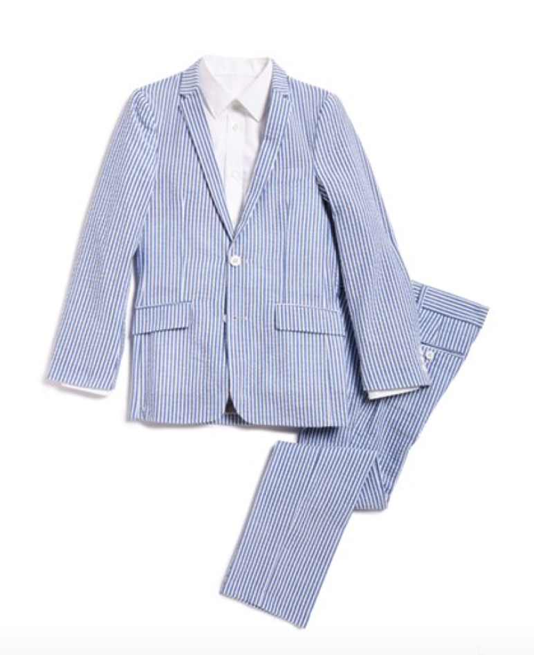 Appaman seersucker 2pc suit