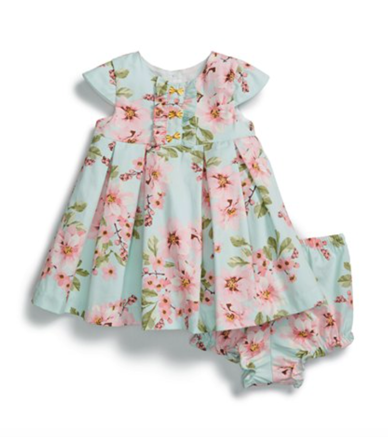 Pippa & Julie dress and bloomers