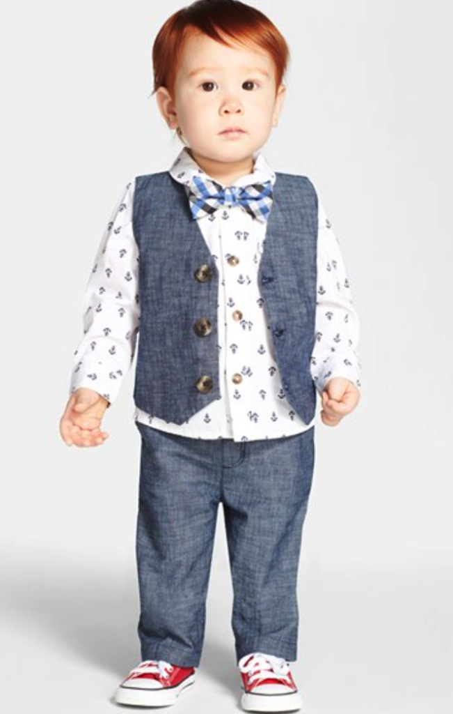 Nordstrom Baby pants and vest set