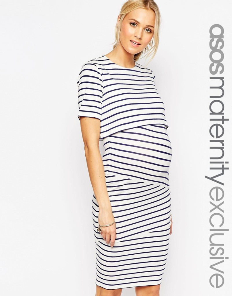 Asos maternity/nursing dress $64