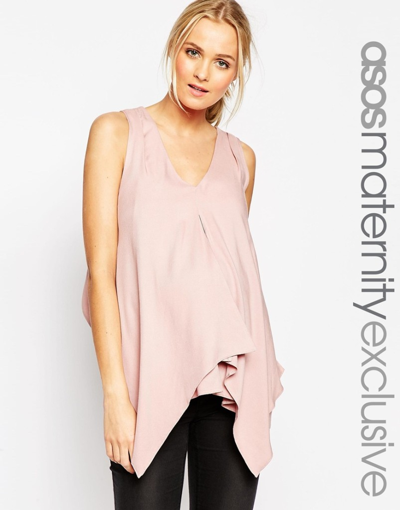 Asos maternity/nursing top