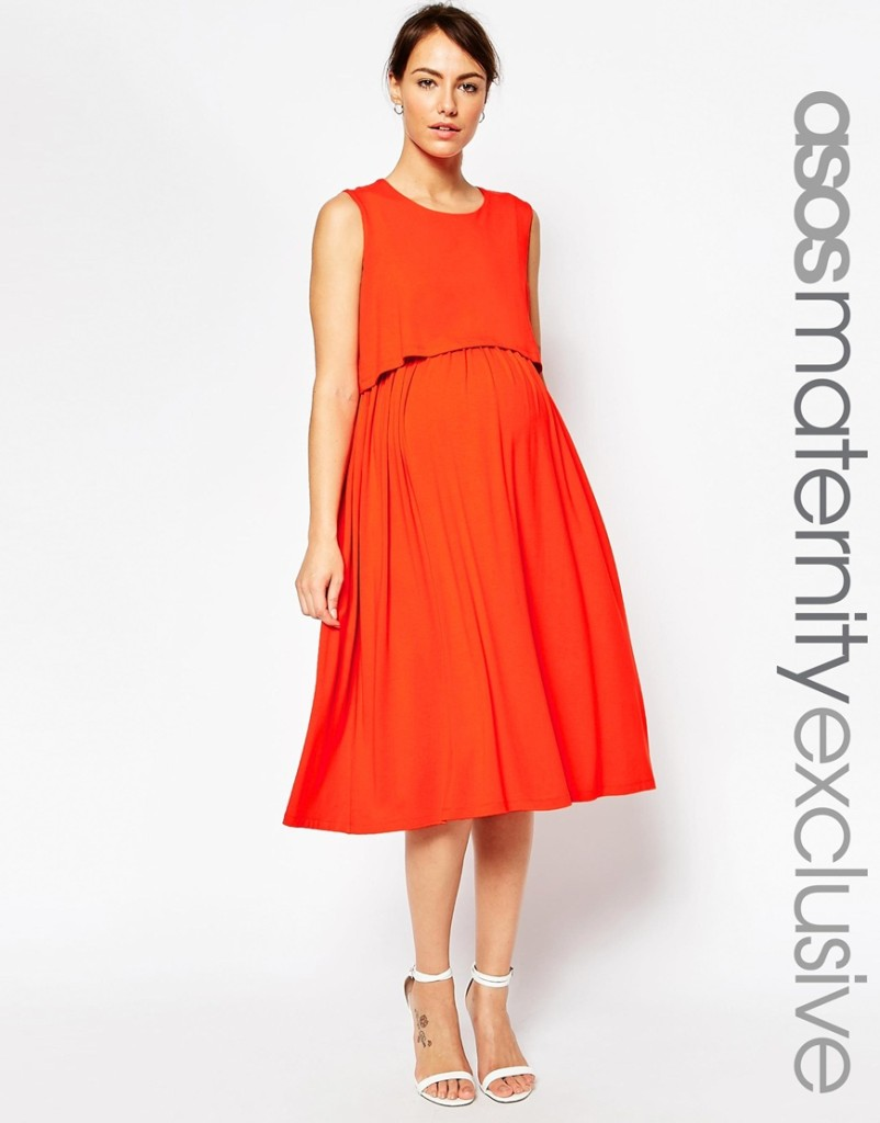 Asos maternity/nursing dress - stylish maternity clothing