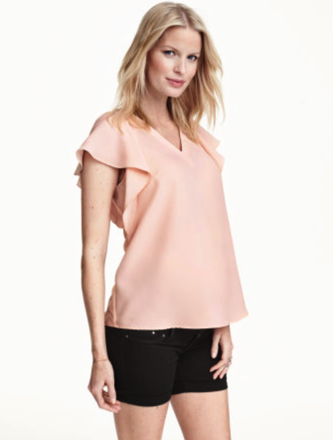 H&M maternity top