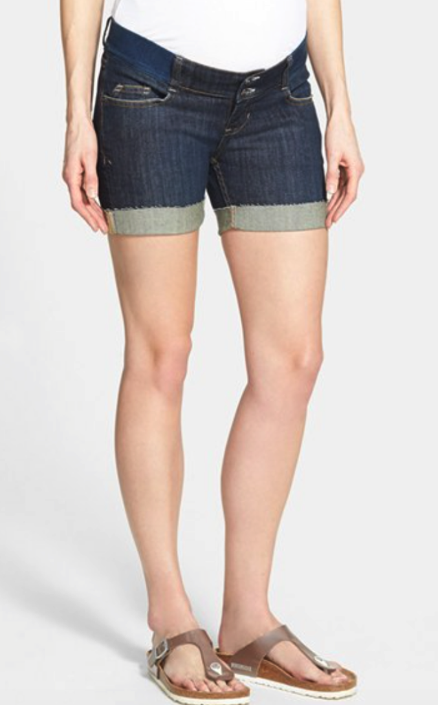 Olian maternity shorts