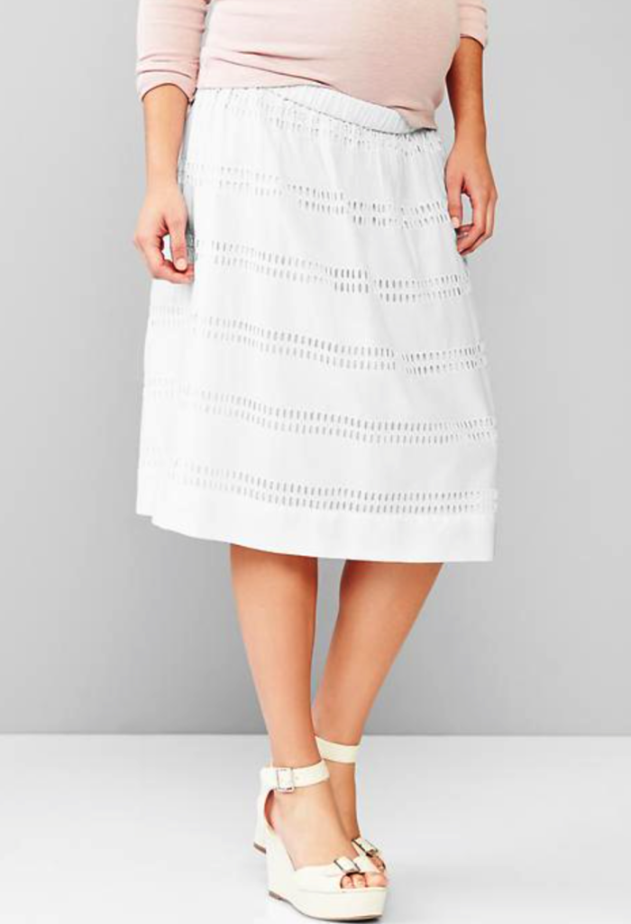 Gap maternity skirt