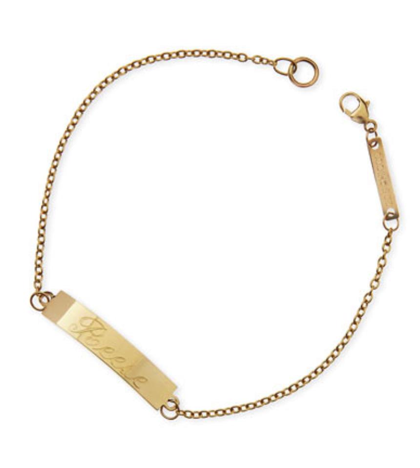 Zoe Chicco ID bracelet