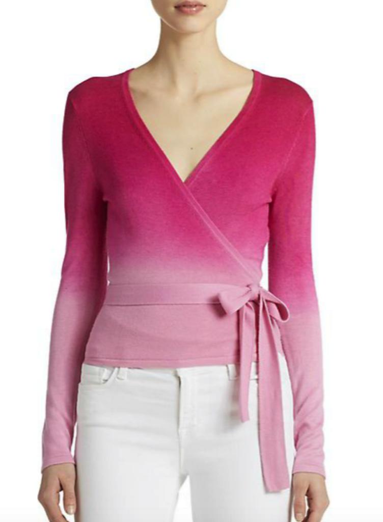 Diane von Furstenberg ballerina sweater