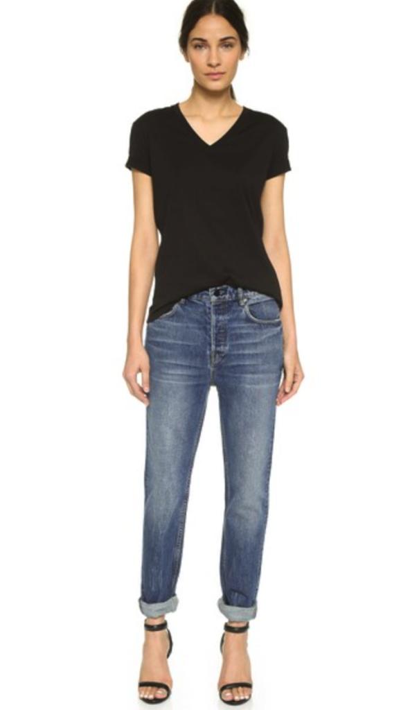 Denim x Alexander Wang jeans - boyfriend jeans