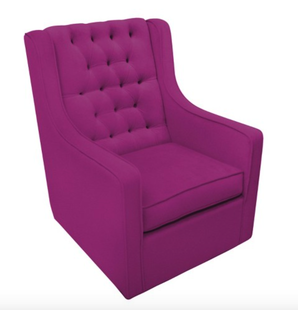 Kids chair princess png - Comfy Kings Glider