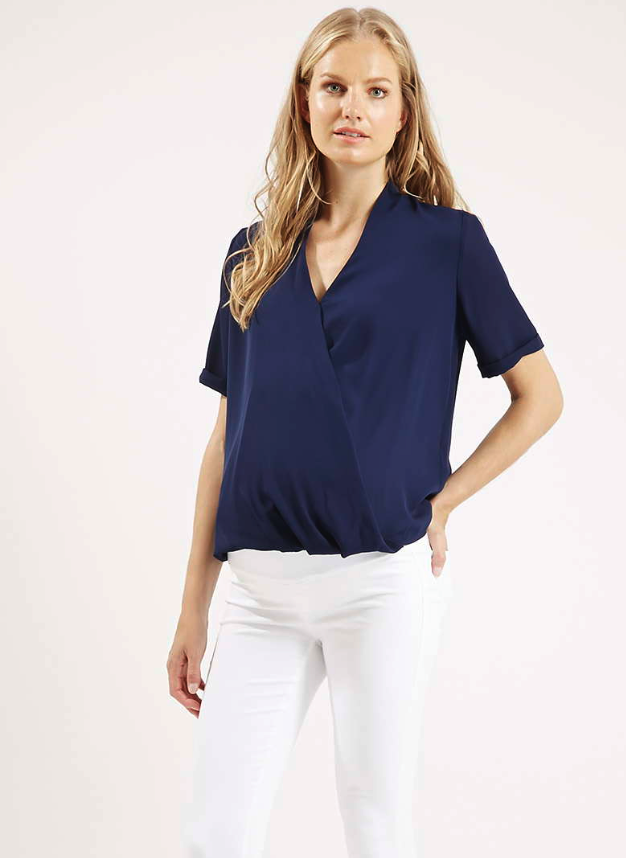 Topshop maternity blouse