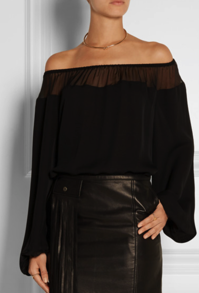 Tamara Mellon top - off the shoulder