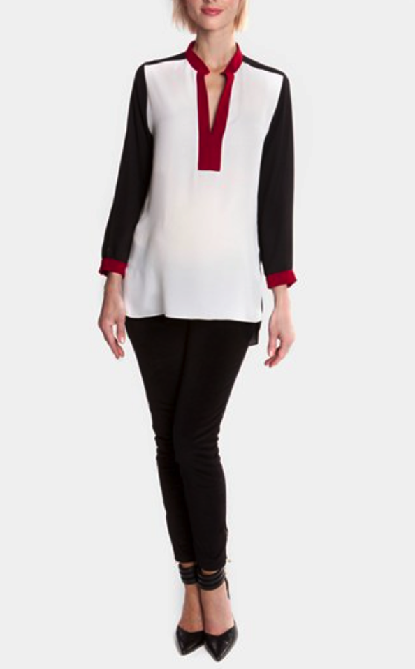 Olian maternity blouse