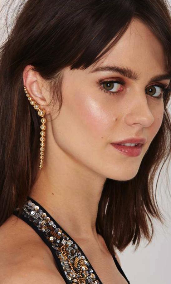 Nasty Gal cuff earring