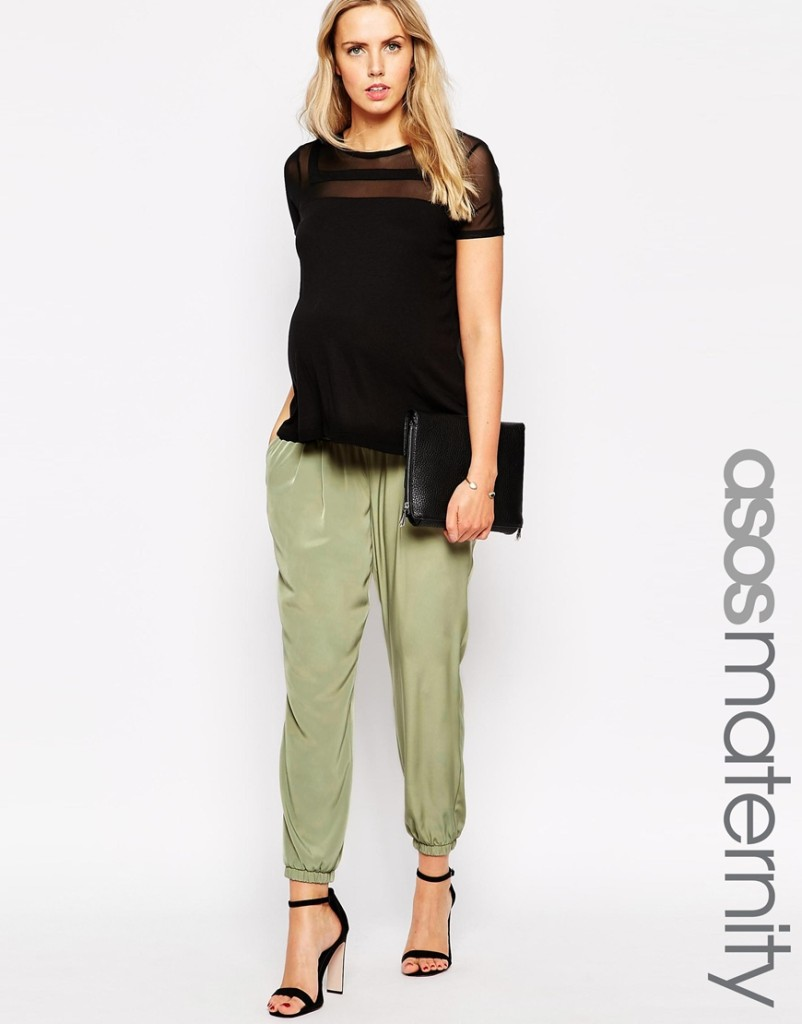 Asos maternity pants - maternity fashion