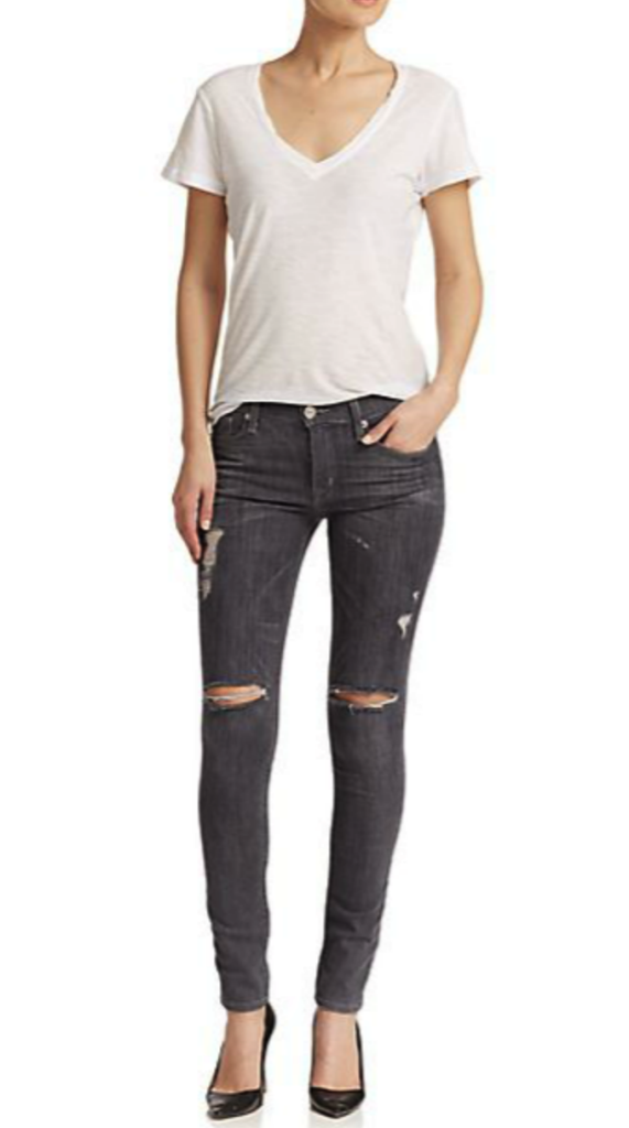 Hudson jeans - distressed denim