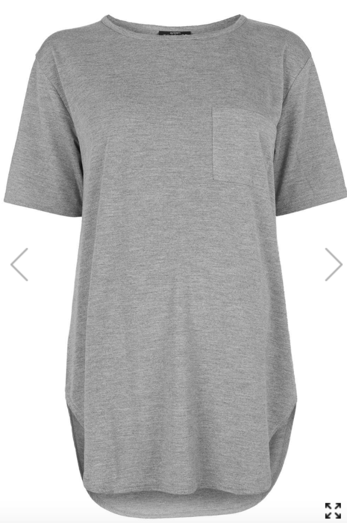 Topshop maternity tee