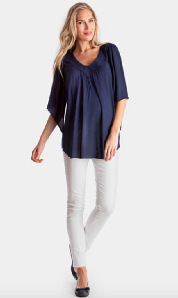 Seraphine maternity top